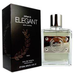 Johan B Elegant Pour Homme Men's 3.4-ounce Eau de Toilette Spray