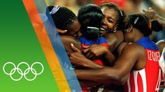 Cuba Women's Volleyball - Countdown to Rio 2016 - 31 Iconic Olympic Moments Having won gold at Barcelona 1992 and Atlanta Cuba win their third consecut. Volleyball History, Olympic Volleyball, Women Volleyball, Volleyball Players, Olympic Athletes, Rio 2016, Cuba, Olympics, In This Moment