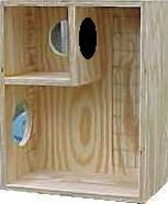 Birds, Etc. - parrot nest box and breeding boxes and Bird Butler water bottles for parrots