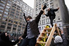 Abstract Connection: Occupy Wall Street is a horizontal movement, one without central leadership, centered around class struggles that largely lost momentum and media coverage quickly. Black Lives Matter is also a horizontal movement. Whether or not BLM will also fall of mainstream attraction will be found out in due time.