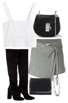 """""""Untitled #4071"""" by amm-xo ❤ liked on Polyvore featuring Étoile Isabel Marant, Anouki, 3.1 Phillip Lim, Chloé, STELLA McCARTNEY and Cartier"""
