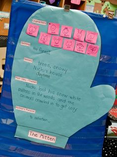 Activities for The Mitten from First Grade Parade by gayle