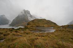 Peaks and tarn
