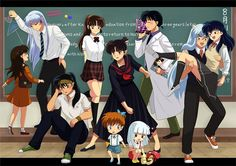 Modern Inuyasha Characters I just noticed how weird sesshomaru and rin together looks.oh well I still ship it Inuyasha Cosplay, Inuyasha Memes, Inuyasha Funny, Rin And Sesshomaru, Inuyasha Fan Art, Inuyasha And Sesshomaru, Kagome And Inuyasha, Miroku, Kagome Higurashi