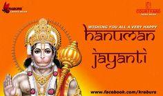 Wishing you all a very Happy Hanuman Jayanti to all Members of Courtyard Kraburs Jeans Team Courtyard Jeans / Kraburs Jeans
