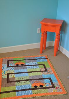 what a great little boy's quilt!