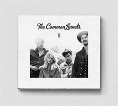 Album cover CD artwork design for the second album of The Common Linnets entitled 'II'.