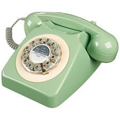 Buy Wild & Wolf 746 1960's Corded Telephone online at John Lewis (£49.00) - Svpply