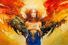 How to become a completely empowered woman, 7 day blog series.  (Artist: Karol Bak)