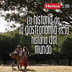 La historia de la gastronomía es la historia del mundo