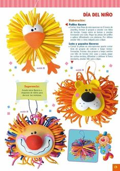 Fiomat editions - Detallitos: A gift from microporous Animal Crafts For Kids, Diy For Kids, Kids Crafts, Diy And Crafts, Arts And Crafts, Preschool Themes, Activities For Kids, Foam Crafts, Paper Crafts