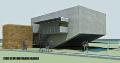 Cinema SESC Barra Mansa
