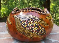 indian corn gourd