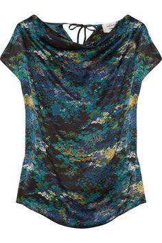 Yves Saint Laurent impressionist blouse