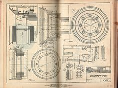 mechanical drawing (found by kelly l. Mechanical Engineering Design, Mechanical Design, Technical Illustration, Technical Drawing, Nikola Tesla, Rocket Drawing, Blueprint Drawing, Drafting Tools, Ghost In The Machine