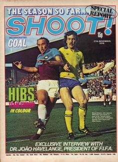Reading Shoot! magazine was always more enjoyable when a Hammers legend featured on the front cover.