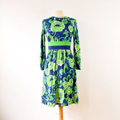 60s Keram Floral Dress now featured on Fab.
