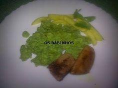 AS PAPINHAS DOS BABINHOS: Ovos mexidos verdes - http://aspapinhasdosbabinhos.blogspot.pt/2010/10/ovos-mexidos-verdes.html