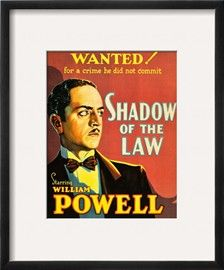 Shadow of the Law Print - at AllPosters.com.au 30x41cm - $28.