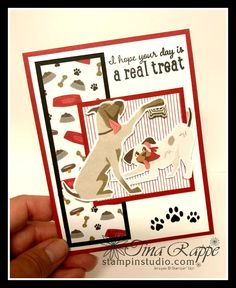 Dog Cards, Cards Diy, Handmade Cards, Up Dog, Christian Cards, Animal Cards, Stamping Up, Big Dogs, Pet Accessories