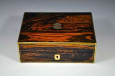1stdibs | Antique Coromandel Jewellery Box