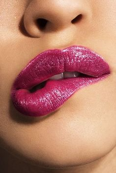 "everthekinkier: ""the lip biting anticipation…. Portrait Girl, Lip Biting, Love Lips, Kissable Lips, Beautiful Lips, Pink Lips, Sensual, Lip Makeup, Lip Colors"