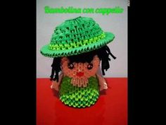 YouTube Origami 3d, Oragami, Captain Hat, Crochet Hats, Tutorials, Diy Crafts, Youtube, Furniture, Paper Folding