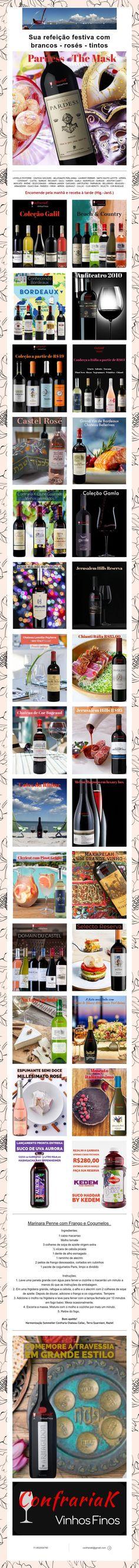 Sua refeição festiva com brancos - rosés - tintos Mouton Cadet, Laurent Perrier, White People, Wine Pairings