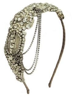 Great Gatsby styled Headpiece