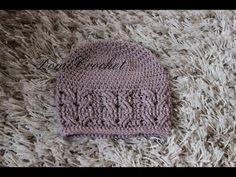 Čiapka s osmičkovým vzorom | copánkový vzor | - YouTube