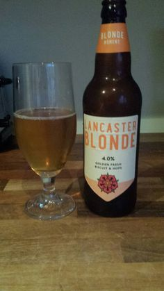 """New Beer Review: """"Lancaster Blonde. Not bad but nothing to shout about 6/10."""" https://t.co/Kh2b8TAtln #beer #ale"""