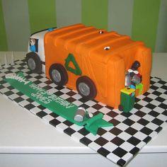 Garbage Truck cake