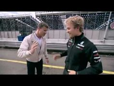 Nico Rosberg Scares David Coulthard Nurburgring New Mercedes SLS AMG 2011 - Carjam Radio F1 2013, David Coulthard, Mercedes Sls, Nico Rosberg, Krishna Love, Top Gear, Formula One, Interview, Infinite