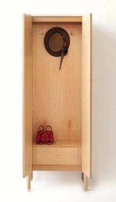 Tall Morrison | egg collective - I love secret drawers behind doors Secret Compartment Furniture, Hiding Places, Bottle Opener, Armoire, Drawers, Egg, Doors, Wall, Home