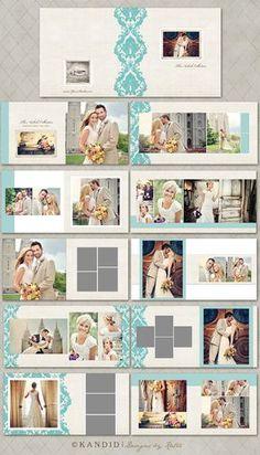 Nichole colección 20 página álbum álbum de por KandidDesign