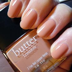 "(Butter London ""Tea with the Queen"") All Butter London nail-polishes are #vegan, not tested on animals and no formaldehyde, no toluene, and no DBP"