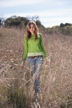 The Pistachio Lizzy Zip Up from Evy's Tree