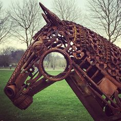 """Find out even more relevant information on """"metal - tree art & how to's"""". Check out our internet site. Scrap Metal Art, Metal Yard Art, Metal Tree Wall Art, Metal Art Sculpture, Steel Sculpture, Horse Sculpture, Sculpture Ideas, Contemporary Sculpture, Metalarte"""