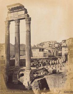 Michele Mang, Temple of Castor (Temple of the Dioscuri), Roman Forum, Rome, Lazio, Italy