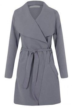 Short Duster Coat