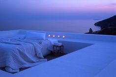 and the rooftop bedroom...wow me muero que tranquilidad refleja esto que bonito!!