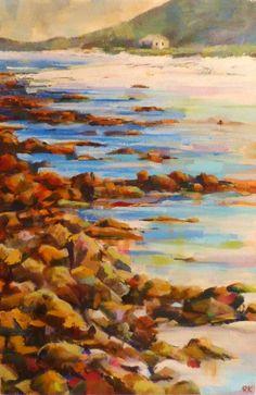 Hangklip   2014 Oil on canvas   600 x 400 #RosKochArt