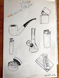 Trippy Drawings, Sad Drawings, Dark Art Drawings, Tattoo Drawings, Surrealism Drawing, Smoke Drawing, Bible Tattoos, Hippie Painting, Doodle Tattoo