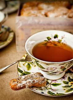 afternoon tea, photo, Miriam Garcia