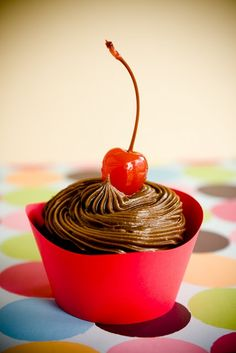 Cherry coke cupcakes....I must try these!