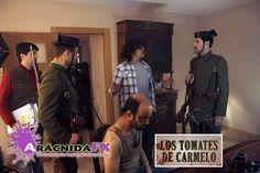 #corto Los Tomates de Carmelo, de Danilo Baracho. Semana de Cine de Medina del Campo FICG festival de cine en Guadalajara México http://lostomatesdecarmelo.com/ Direción de arte: Aran Gaspar Arte: María esparcia Maquillaje: Marga Prieto Vestuario: Patri Azpeleta https://www.facebook.com/aracnidafx/ https://www.pinterest.com/arcnidafx/ https://www.instagram.com/aracnidafx/ https://plus.google.com/u/1/117617643677174397308