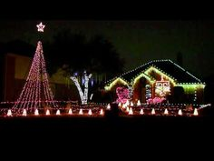 Christmas Lights - Texas A Aggie War Hymn - Frisco, TX. Proud to be an Aggie yet?