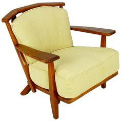 Cushman Colonial Red Rock Maple Club Chair image 2