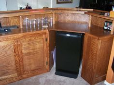 Home Bar Plans - Easy Designs to Build your own Bar - Wet Bar ...