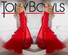 Tony Bowls Style TB117423 - View the Tony Bowls Collection now and contact a retailer near you to order the perfect designer dress for your social occasion!